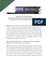 Cultura, Formacao e Industria Cultural_ Uma Reflexao a Partir de Adorno e Bourdieu