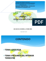 Geologia Unidad I