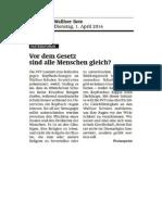 20140401 WB Parteienforum Stellungnahme-Kopfbedeckungsverbot