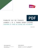 20140305 Dp Plan de Fiabilite Idf Lignes l Et j 5 Mars 2014