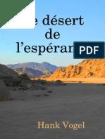 Le désert de l'espérance