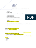 Indice Informe Lic. Admon Educ 2014