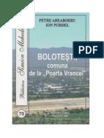 Bolotesti Comuna de La Poarta Vrancei I