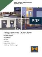Programme Overview Hoermann