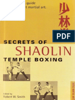 Smith Robert W. - Secrets of Shaolin Temple Boxing