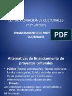 2. Ley de Donaciones Culturales 2