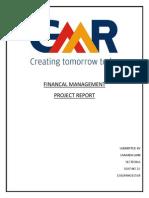 GMR Finance report