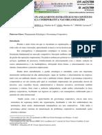 A IMPORTÂNCIA DO PLANEJAMENTO ESTRATÉGICO NO CONTEXTO DA GOVERNANÇA CORPORATIVA NAS ORGANIZAÇÕES