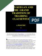 Keegan vs Clausewitz