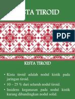 KISTA TIROID