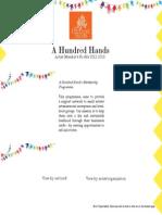 A Hundred Hands-Art Website