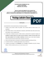 Fundatec 2010 Tj Rs Psicologo Judiciario Classe r Prova