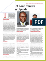Overview and Challenges of Land Sector in Uganda