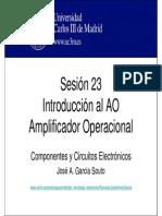 OCW-CCE S23 Intoduccion Al Amplificador Operacional
