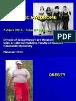 Kuliah - Obesity - Metabolic Syndrome 2012