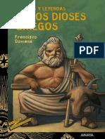Cuentos y Leyendas de Los Dioses Griegos - Francisco Domene