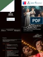 """Presentación Guía """"Actuando con Derecho"""", de Luis Villarroel Villalón en Universidad Mayor"""