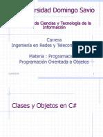 Programacion i Declaracic3b3n de Clases en c
