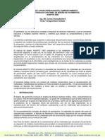 Comportamiento de los materiales con fines de Diseño de Pavimentos - Ing. Carlos Chang - ICG