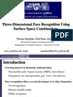 3DFaceRec-CombinedSpaces