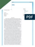 Social Media Persuasive Essay