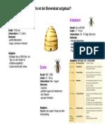 tafelbild bienenstaat