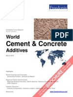 World Cement & Concrete Additives