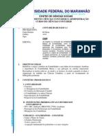 Programa de Contabilidade Basica I