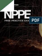 NPPE Exam - Multiple Choice Sample Exam