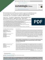 Consenso para Analgésicos A No esteroideos