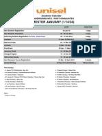 Academic Calendar Januari 2014 Undergraduate Amend