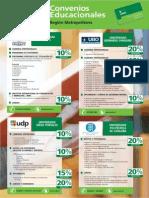 Descargar Folleto Convenios Educacionales Region Metropolitana PDF 226 Kb