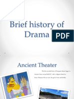 brief history of drama