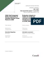 CNSC Report June11 2010