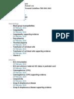 Neonatal Guidelines NHS 2011-2013
