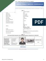 UPSC - Candidate's Application Details (Registration-Id_ 11416075138)