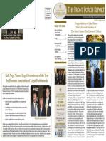 The Front Porch Report April