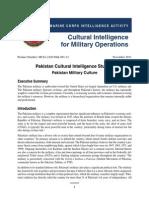 MCIA - Pakistan Military Culture