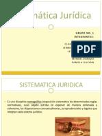 Sistemática Jurídica