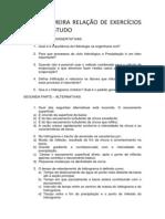RELAÇÃO DE EXERCICIOS PARA ESTUDO.docx