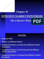 Chapter 10 Efficient Market Hypothesis