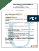Reconocimiento Curso y Rubrica 2013-2
