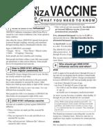 H1N1 Factsheet
