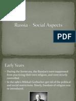 russias social life