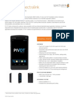 PIVOT Wireless Handsets & Phone Systems by Spectralink | Product Specifications