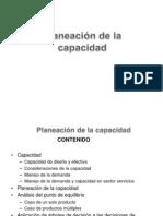 Planeación de la capacidad PDF