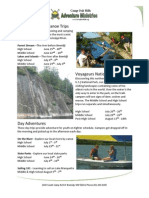 2014 Camp Oak Hills Adventure Ministries Basic Info