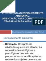 Enriquecimento Ambiental e Trabalho2014