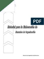 CUESTIONARIO - Manual de Organizacion