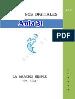 Cuadernos Digitales Aula 31 La Oracion Simple